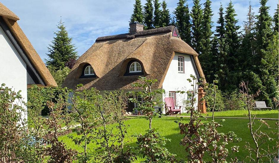 Hoheneichen Hohwacht Reetdach Ferienhäuser an der Ostsee